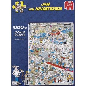 Jan Van Haasteren - Some like it hot - 1000 Piece Puzzle (81453A)