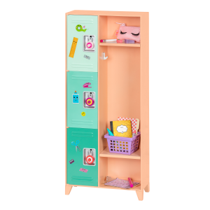 Our Generation - Classroom Cool Locker Set (737913)