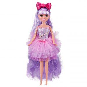 Sparkle Girlz - Hair Dreams Doll - Purple