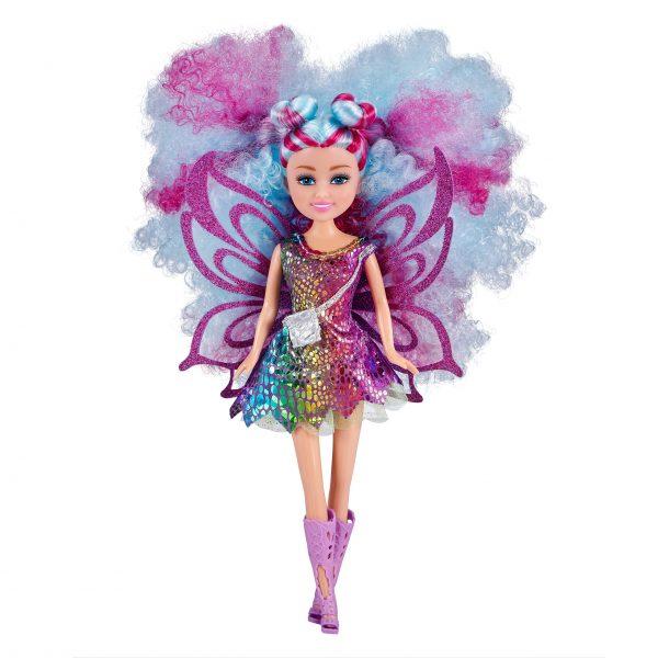 Sparkle Girlz - Hair Dreams Doll - Blue