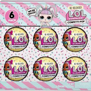 L.O.L. Surprise - 6-Pack Confetti (571582)