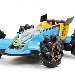 TechToys - Mist Spray Drift Car R/C 1:16 12,4G - Blue/Yellow (534436)
