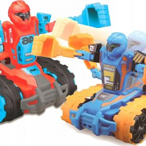 Maisto - Robo Fighters (2 Pack) R/C 5,3'' 27Mhz - Blue/Red (140027)