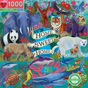 eeBoo - Puzzle - Planet Earth, 1000 pc ( EPZTPLA)