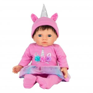 Tiny Treasure - Pink Unicorn Outfit (30216)