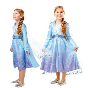 Frozen - Elsa Travel Dress - Childrens Costume (Size 116)