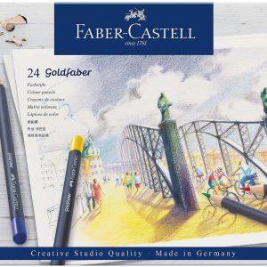 Faber-Castell - Goldfaber-värikynä, tina 24 (114724)