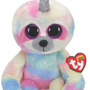 Ty Plush - Beanie Boos - Cooper the Sloth with Horn (Medium) (TY36459)