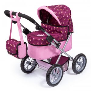 Bayer - Dolls Pram - Trendy - Pink (13088AA)