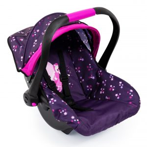 Bayer - Deluxe Car Seat with Cannopy - Purple (67979AA)
