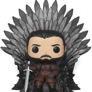 Funko POP! - Deluxe: Game of Thrones - Jon Snow Sitting on Iron Throne (37791)