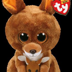 Ty Plush - Beanie Boos - Kipper the Kangaroo (Medium) (TY37160)
