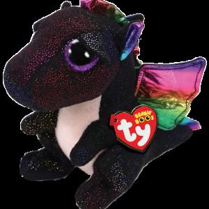 Ty Plush - Beanie Boos - Anora the Black Dragon (Medium) (TY37268)