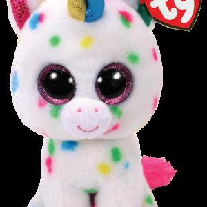 Ty Plush - Beanie Boos - Harmonie the Unicorn (Large) (TY36891)