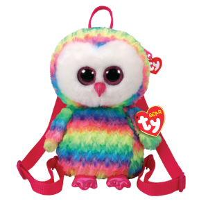 Ty Plush - Backpack - Owen the Owl (TY95003)