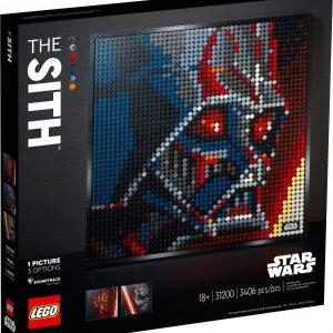 LEGO Art - Star Wars The Sith (31200)
