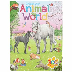 Create Your - Animal World Activity Book (411147)