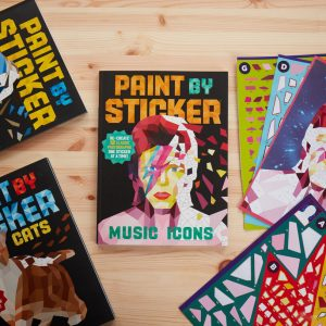 Paint By Stickers (Music Icons) (22651)