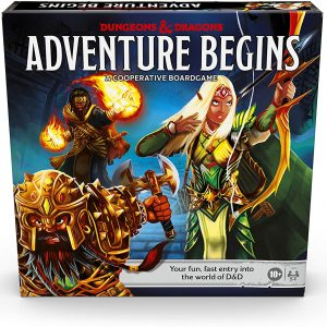 Dungeons and Dragons - Adventure Begins Boardgame (D&D) (English) (HASE9418102)