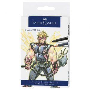 Faber-Castell - Comic Illustration 3D Set, 11 pieces (267191)