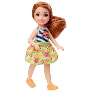 Barbie - Club Chelsea Doll - Sloth and Skirt (GHV66)