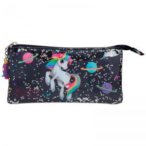 Ylvi & the Minimoomis - Pencil Case - Space Unicorn (11175)