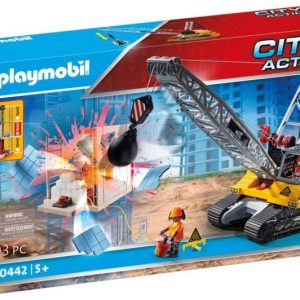Playmobil - Cable Excavator with Building Section (70442)