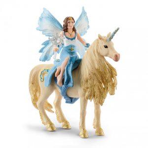 Schleich - Eyela riding on golden unicorn (42508)
