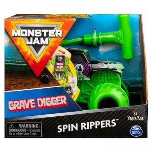 Monster Jam - Spin Rippers - Grave Digger (20119279)