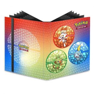Pokemon - 4 Pocket Portfolio - Sword & Shield Galar Starters (ULT15354)