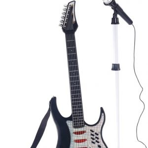 Electric Guitar with Microphone & Stand (501073)