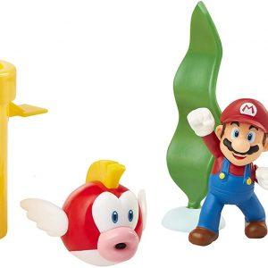 Nintendo - Super Mario - 6 cm Underwater Diorama Set (400164)