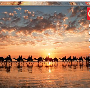 Educa - Puzzle 1000 - Sunset In Beach Cable (018492)