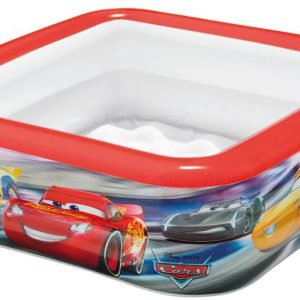 INTEX- Cars Play Box Pool (57101)