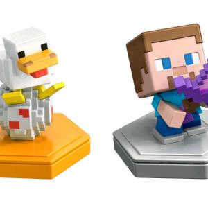 Minecraft - Boost Mini Figure 2-Pack - Steve & Companion (GKT42)