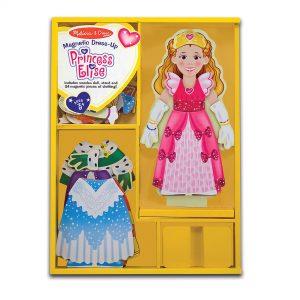 Melissa & Doug - Magnetic Wooden Dress-Up - Princess (40321)