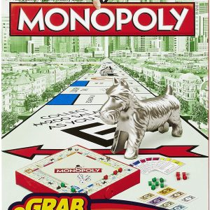 Hasbro Gaming - Monopoly Grab and Go (B1002)
