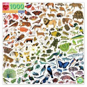 eeBoo - Puzzle - A Rainbow World, 1000 pc (EPZTRBW)