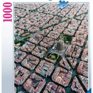 Ravensburger - Puzzle 1000 - Barcelona from above (10215187)