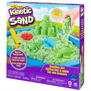 Kinetic Sand - Box Set, Green (6024397)