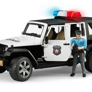 Bruder - Jeep Wrangler Unlimited Rubicon Police Vehicle with policeman (BR2526)