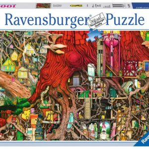 Ravensburger - Puzzle 1000 - Colin Thompson - Hidden World (10219644)