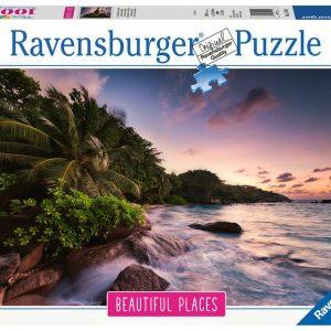 Ravensburger - Puzzle 1000 - Praslin Island, Seychelles (10215156)
