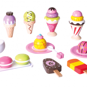 Small Wood - Ice Cream Selection (L40105)