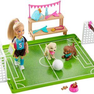 Barbie - Dreamhouse Adventures - Chelsea Soccer Playset (GHK37)
