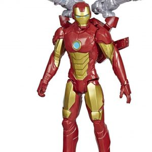 Avengers - Titan Hero - Blast Gear Iron Man - 30 cm (E7380)
