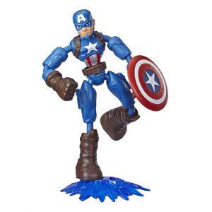 Avengers - Bend and Flex - Captain America - 15 cm (E7869)