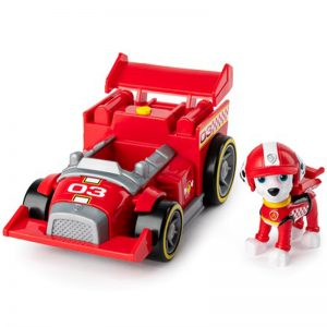 Paw Patrol - Race & Go Deluxe Vehicles - Marshall