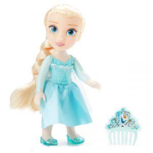 Disney Frozen - Petite with Hard Bodice + Comb - Elsa (20597)