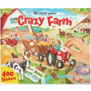 Create Your - Crazy Farm Sticker Book (0410745)